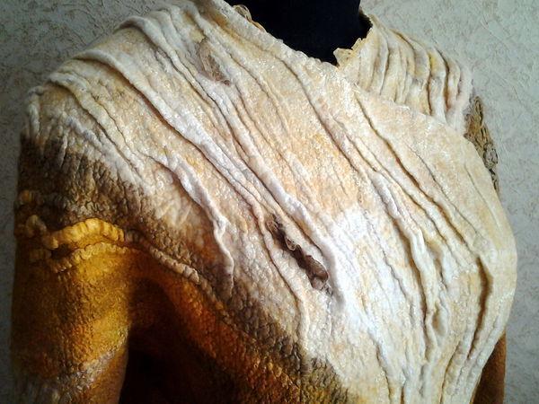 Как мы с Ириной арт-пальто валяли. | Ярмарка Мастеров - ручная работа, handmade