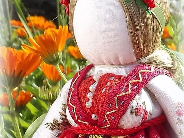 Видео мастер-класс: делаем куклу по славянским мотивам «На замужество» | Ярмарка Мастеров - ручная работа, handmade