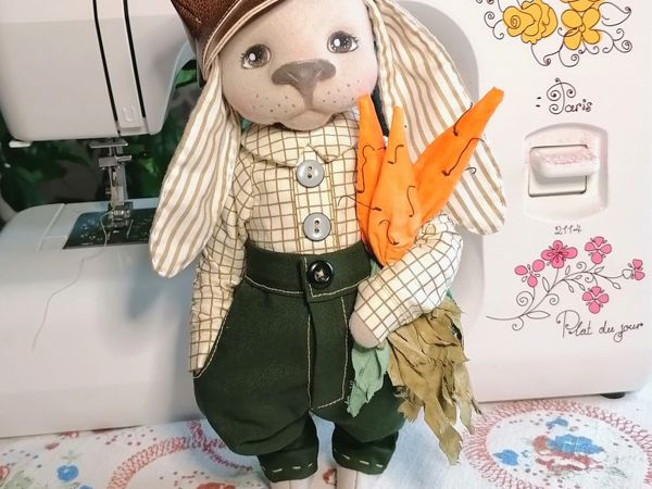 Шьем морковный букет для зайца | Ярмарка Мастеров - ручная работа, handmade