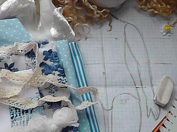 Как сделать аккуратный затылок текстильной кукле: мой способ | Ярмарка Мастеров - ручная работа, handmade
