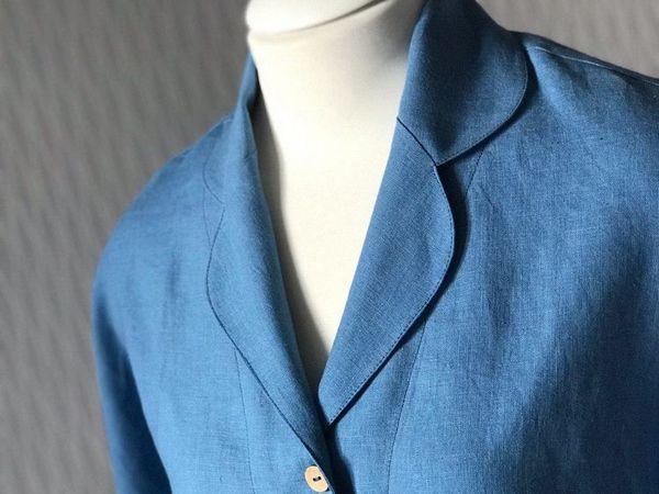 Новая льняная рубашка | Ярмарка Мастеров - ручная работа, handmade