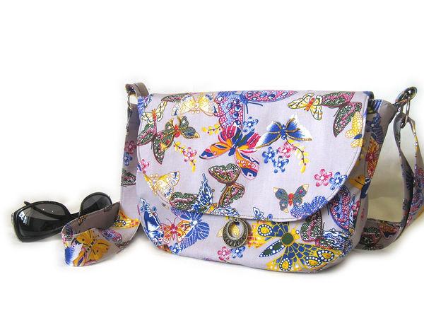 Шьем яркую текстильную сумочку на лето | Ярмарка Мастеров - ручная работа, handmade