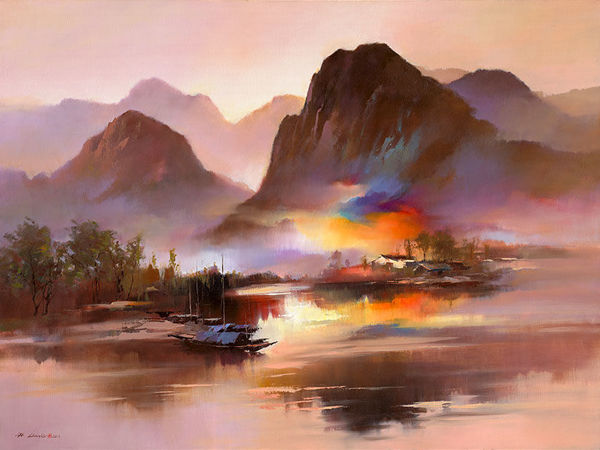 Кен Хонг Лунг — мастер волшебных пейзажей | Ярмарка Мастеров - ручная работа, handmade