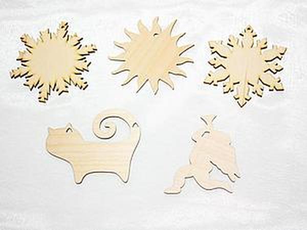 Заготовки для новогодних игрушек | Ярмарка Мастеров - ручная работа, handmade