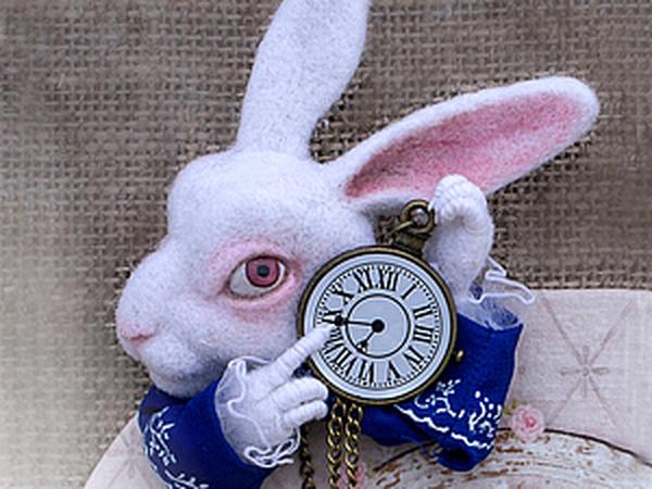 Создаем брошь «Белый кролик» | Ярмарка Мастеров - ручная работа, handmade