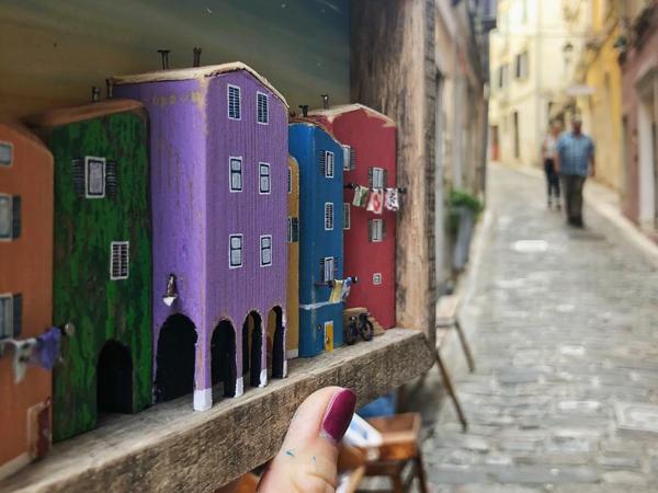 Уютный дрифтвуд Nika's tiny house: художница из Словении воссоздает свой родной город из плавника | Ярмарка Мастеров - ручная работа, handmade