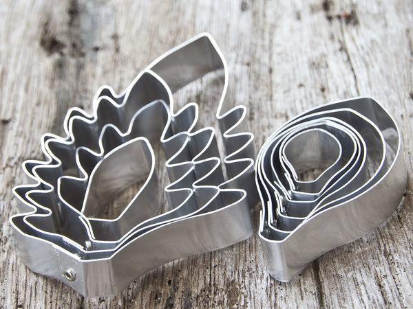 Сахарные цветы из каттеров МайТай | Ярмарка Мастеров - ручная работа, handmade