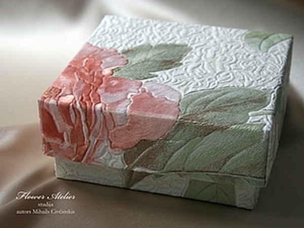 Мастер - класс по коробочкам   Ярмарка Мастеров - ручная работа, handmade