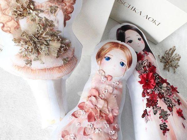 Персонализированные куклы в нарядах от Mischka Aoki   Ярмарка Мастеров - ручная работа, handmade