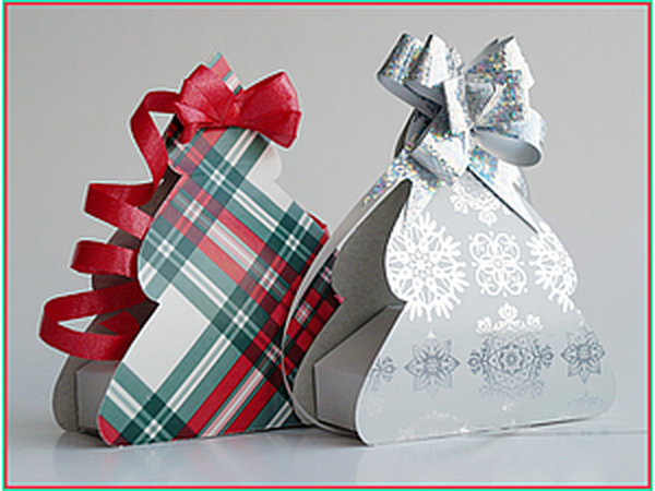Коробочка Новогодняя ёлочка | Ярмарка Мастеров - ручная работа, handmade