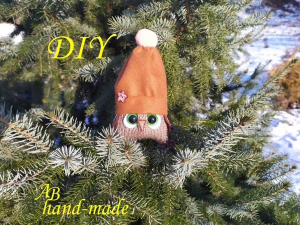 Создаем игрушку «Сова» своими руками | Ярмарка Мастеров - ручная работа, handmade