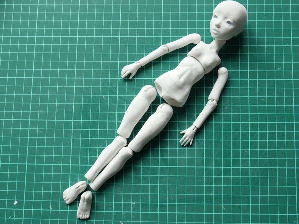 Как собрать шарнирную куклу BJD. Первая сборка   Ярмарка Мастеров - ручная работа, handmade