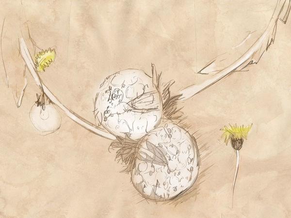 Делаем колье  «Одуванчики». Часть первая | Ярмарка Мастеров - ручная работа, handmade