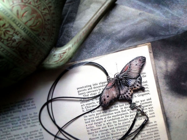 Процесс создания мотылька из полимерной глины | Ярмарка Мастеров - ручная работа, handmade