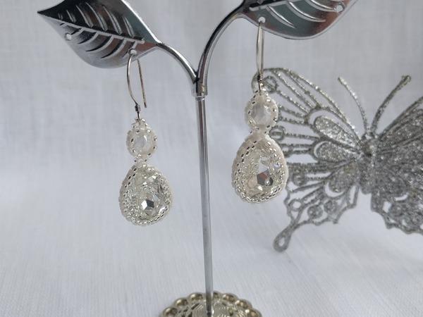 Мастер-класс: создаем свадебные серьги из бисера и кристаллов Swarovski | Ярмарка Мастеров - ручная работа, handmade