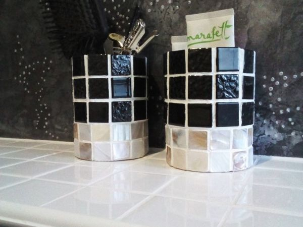 Bathroom Cups Decoration | Livemaster - handmade