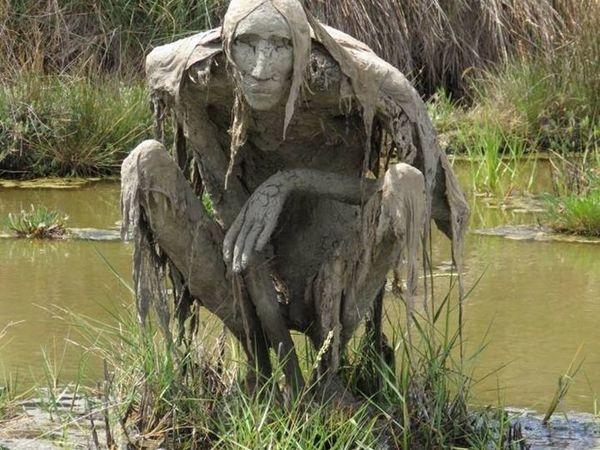 Скульптуры на природе. Пугающие и необычные   Ярмарка Мастеров - ручная работа, handmade
