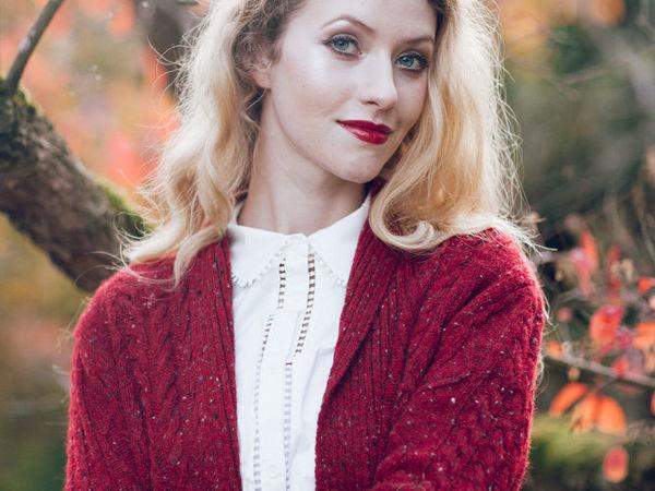 Красивая осень: 30 вязаных моделей из ирландского твида | Ярмарка Мастеров - ручная работа, handmade