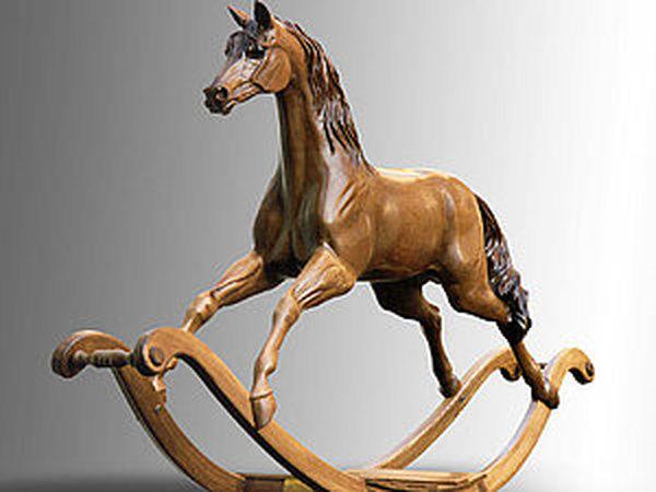 Деревянная лошадка – магический символ 2014 | Ярмарка Мастеров - ручная работа, handmade