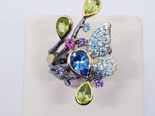 Видео кольца  «Магия весны» | Ярмарка Мастеров - ручная работа, handmade