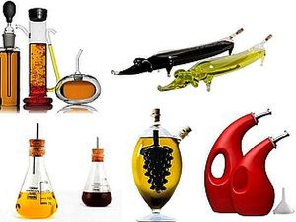 Необычные емкости для масла и уксуса   Ярмарка Мастеров - ручная работа, handmade
