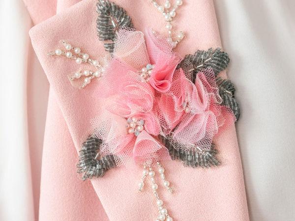 Украшения и аксессуары: люневильская вышивка   Ярмарка Мастеров - ручная работа, handmade