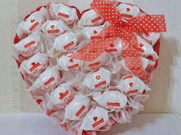 Розыгрыш конфетки-Сладкое сердце   Ярмарка Мастеров - ручная работа, handmade