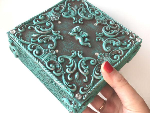DIY Beautiful Cardboard Box / How To Make Box | Livemaster - handmade