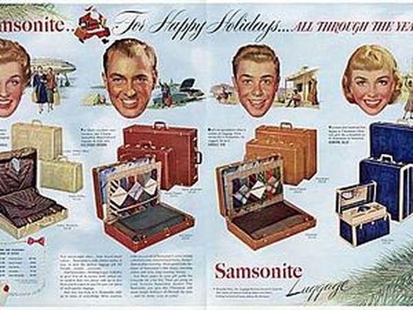 Новогодняя реклама Vintage/1951 -1956 включительно | Ярмарка Мастеров - ручная работа, handmade