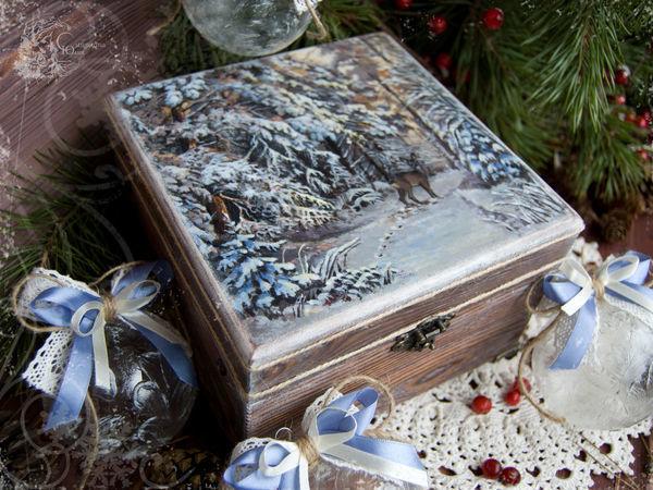 Зимняя сказка в дополнительных фотографиях:)   Ярмарка Мастеров - ручная работа, handmade