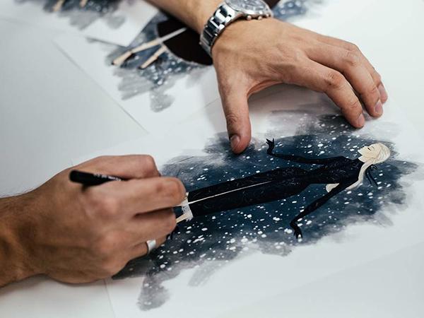 Щелкунчик и Высокая мода: Paolo Sebastian 2018–19 AW Couture   Ярмарка Мастеров - ручная работа, handmade