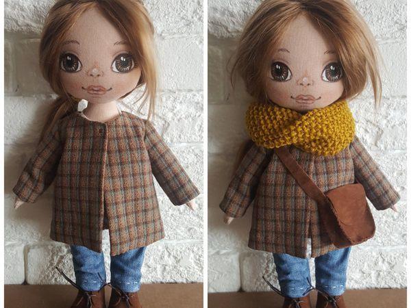 Шьем для куклы пальто со складкой на спинке   Ярмарка Мастеров - ручная работа, handmade