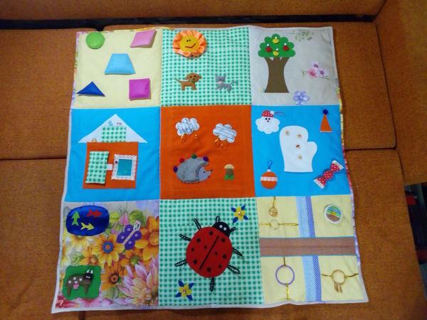 Детский развивающий коврик на заказ | Ярмарка Мастеров - ручная работа, handmade