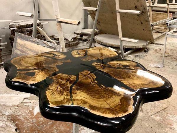 Создаём стол «Butterfly» в стиле Бионика | Ярмарка Мастеров - ручная работа, handmade