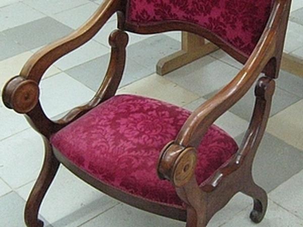Реставрация мягкого элемента сиденья (Молельное кресло, Франция, конец XIX в.) | Ярмарка Мастеров - ручная работа, handmade