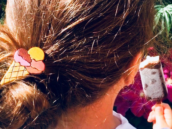 How to Make Popsicle Hairpins with Your Own Hands   Livemaster - handmade