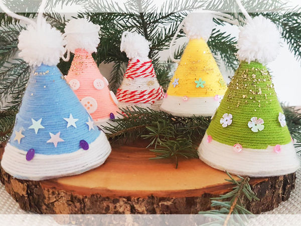 Easy & Quick To Make DIY Christmas Tree Decor | Livemaster - handmade