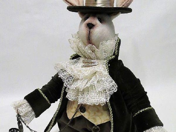 Мартовский заяц как «Лучший подарок к Новому году 2017» | Ярмарка Мастеров - ручная работа, handmade