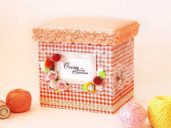«Чарующая осень»: делаем музыкальную коробочку с нуля | Ярмарка Мастеров - ручная работа, handmade