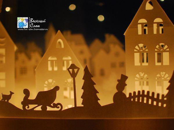 Создаем волшебный город из бумаги | Ярмарка Мастеров - ручная работа, handmade