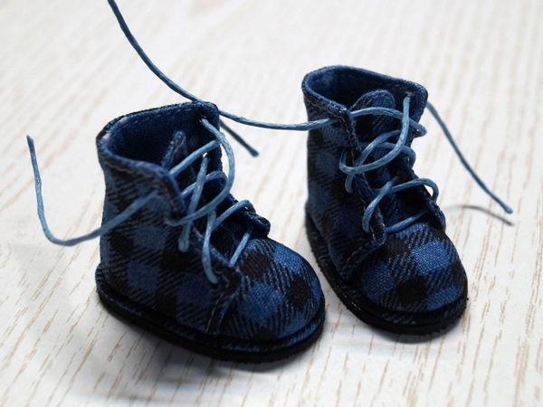 Шьём текстильные ботиночки для куклы. Часть 2   Ярмарка Мастеров - ручная работа, handmade