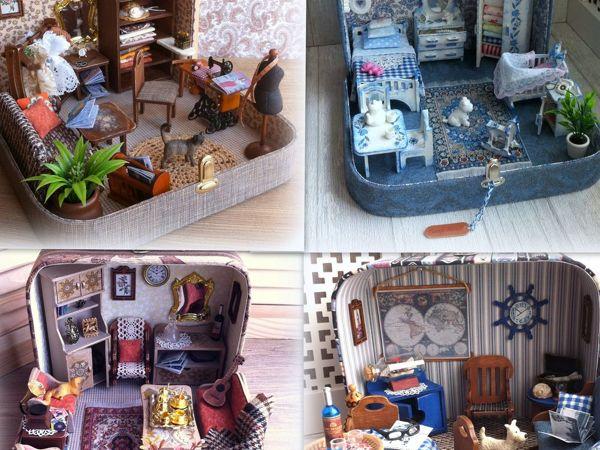 Нашествие чемоданчиков | Ярмарка Мастеров - ручная работа, handmade