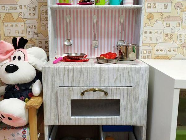 Детская кухня своими руками | Ярмарка Мастеров - ручная работа, handmade
