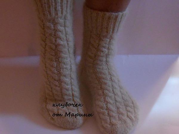 Вяжем и валяем женские шерстяные носочки из овечьей пряжи и ровницы | Ярмарка Мастеров - ручная работа, handmade