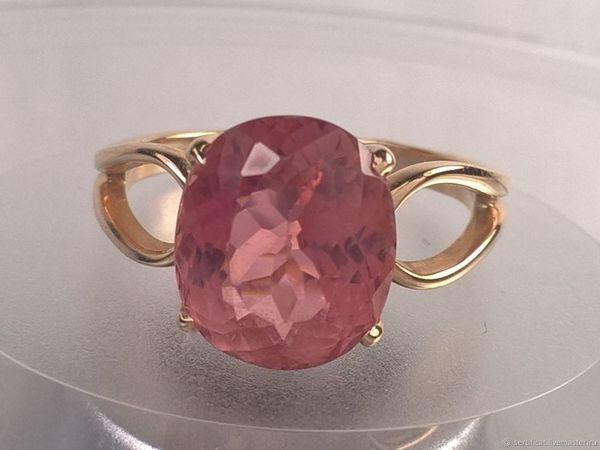 Принимаем заказы на кольцо с турмалином!   Ярмарка Мастеров - ручная работа, handmade