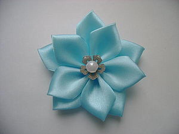 Цветок с острыми лепестками. Мастер-класс | Ярмарка Мастеров - ручная работа, handmade
