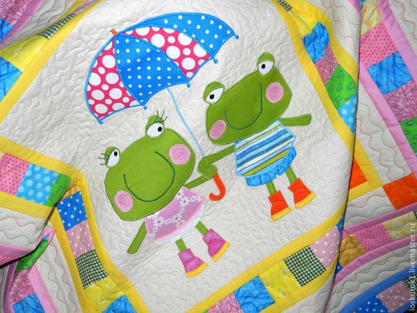 Уютный пэчворк для детей | Ярмарка Мастеров - ручная работа, handmade