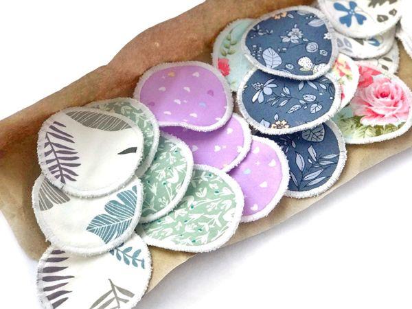 Многоразовые ватные диски на любой вкус | Ярмарка Мастеров - ручная работа, handmade