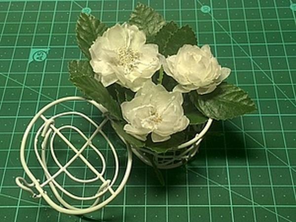 Мастер-класс по изготовлению цветка с тычинками из кальки | Ярмарка Мастеров - ручная работа, handmade