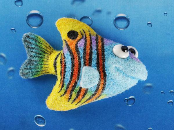 Рыбка | Ярмарка Мастеров - ручная работа, handmade